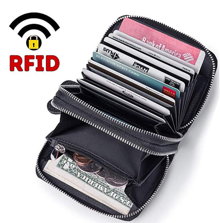 RFID: кошелек со вшитым чипом, который защищает и блокирует ваши карточки от интернет-мошенников Кошелек, Карты, Защита, Rfid, Длиннопост