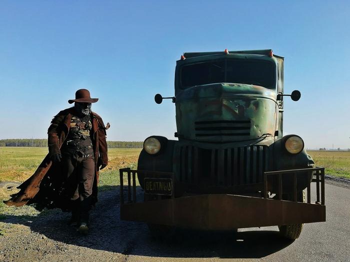 Небольшая история о том как простенький косплей разросся в нечто бОльшее и как я добрался до грузовика Крипера. Косплей, Джиперс Криперс, Русский косплей, Фильмы, Видео, Длиннопост