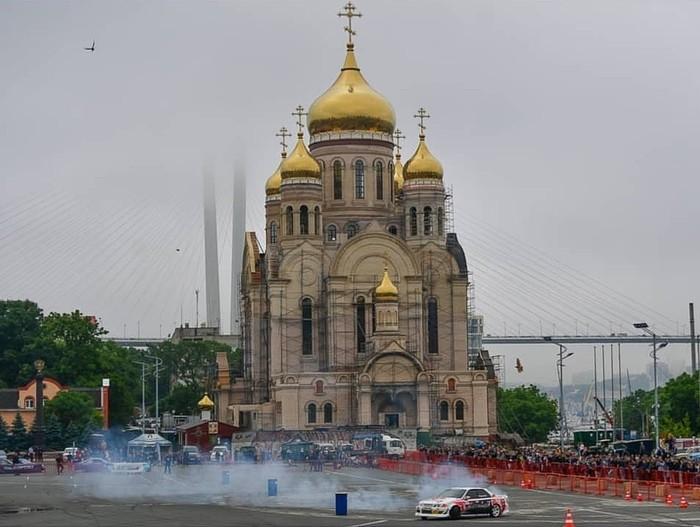 Очень владивостокское фото Владивосток, Дрифт, Храм, Ннв