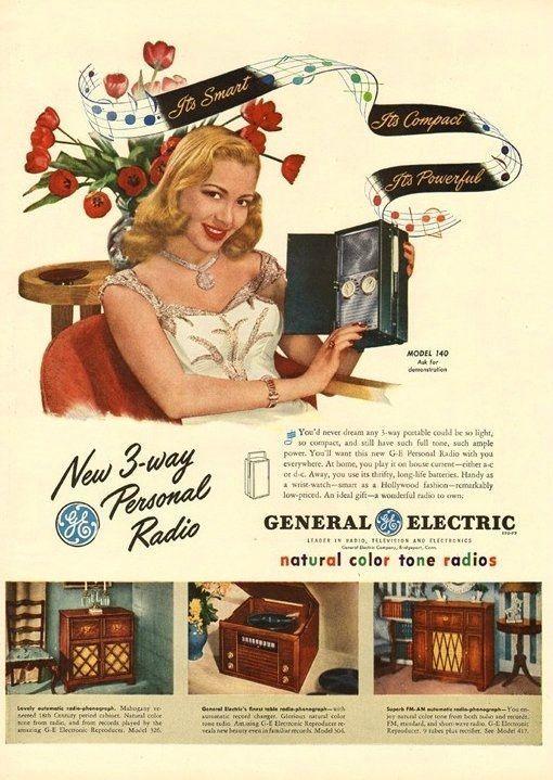 Американская реклама 30-40-х. годов