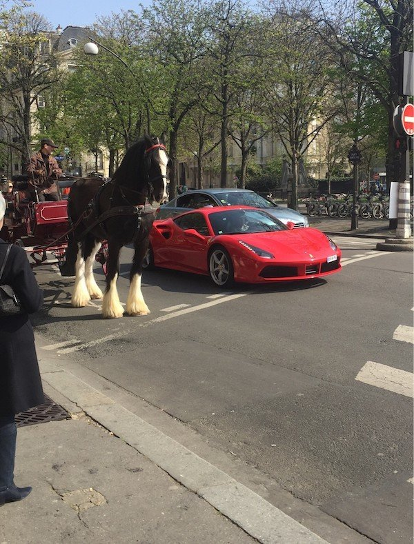 Одна лошадиная сила против семисот