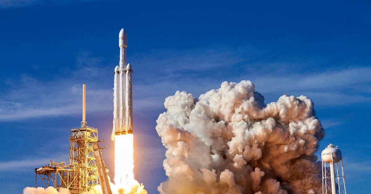 spacex falcon heavy rocket - HD1920×1280