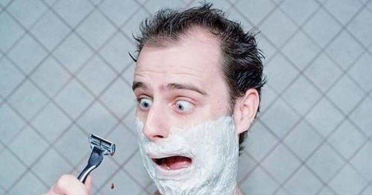 Картинка для кого я бреюсь