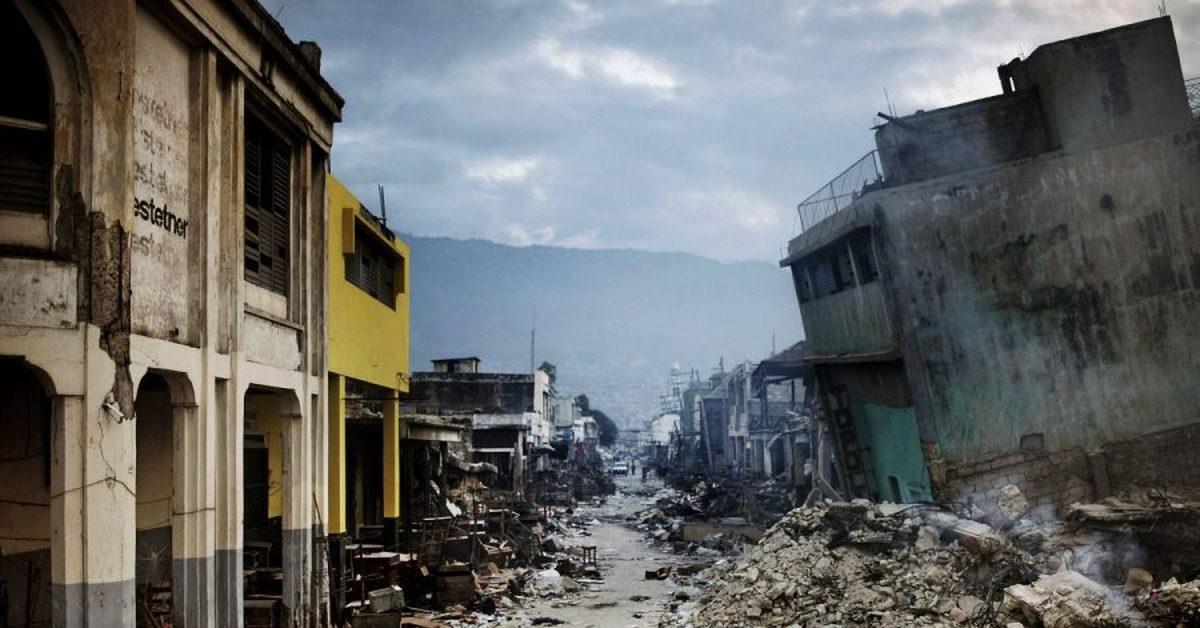 devastating earthquake ravaged haiti - HD 1200×800