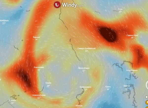 Учёные опубликовали спутниковые снимки смога над Новосибирском. Это страшно Лесные пожары, Смог, Новосибирск, Гифка, Длиннопост
