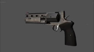 Револьвер-слонобой РШ-12 Револьвер, Огнестрельное оружие, Рш-12, Оружие России, Гифка, Длиннопост
