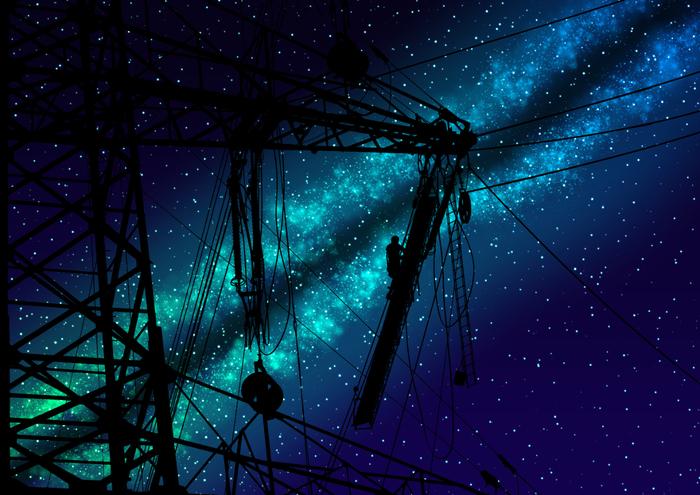 Звёздное небо и космос в картинках - Страница 36 1565448497180024826