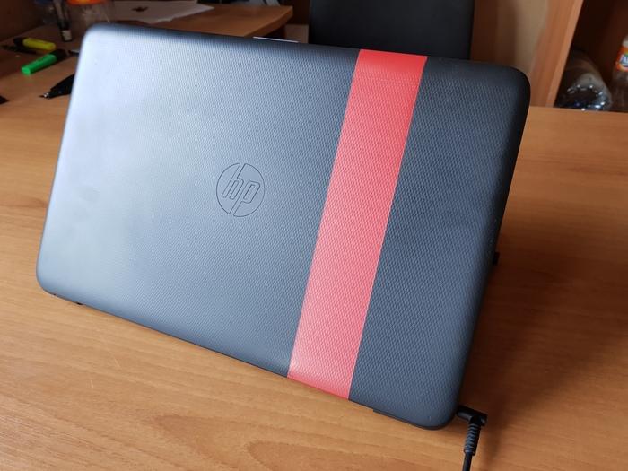 Вторая жизнь ноутбука Покраска, Ноутбук, Hewlett Packard, Своими руками, Длиннопост