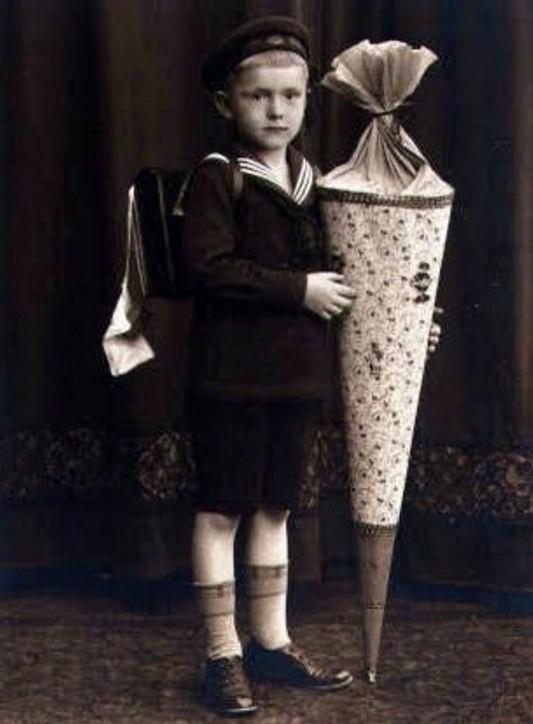 Шультюте, или вместо букета История, Традиции, 1 сентября, Германия, Их нравы, Копипаста, Дети, Школа, Длиннопост