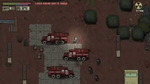 Chernobyl: Road of Death - игра Gamedev, Indiedev, Игры, Pixel Art, Чернобыль, Инди-Разработка, Видео, Гифка, Длиннопост