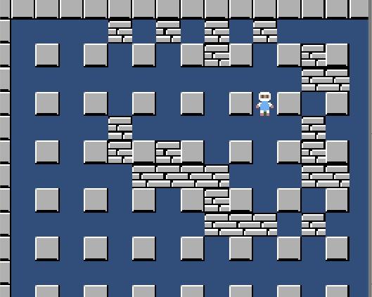 Клон Bomberman на Unity - Часть 1 Unity, Unity3d, Бомбермен, Bomberman, Разработка, Игры, Dendy, Гифка, Видео, Длиннопост