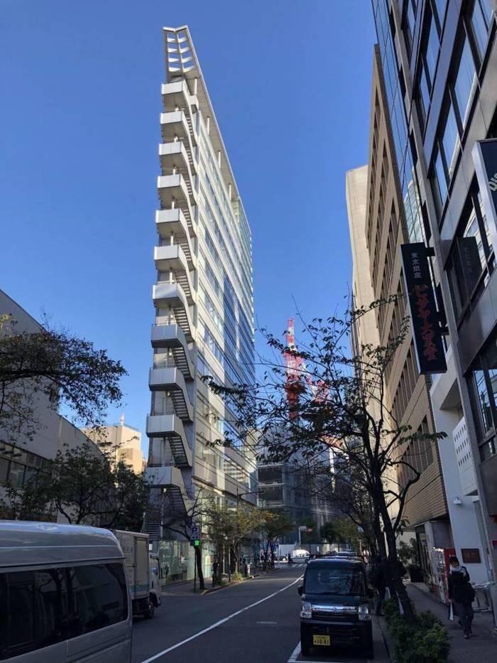 Многоэтажка в Токио