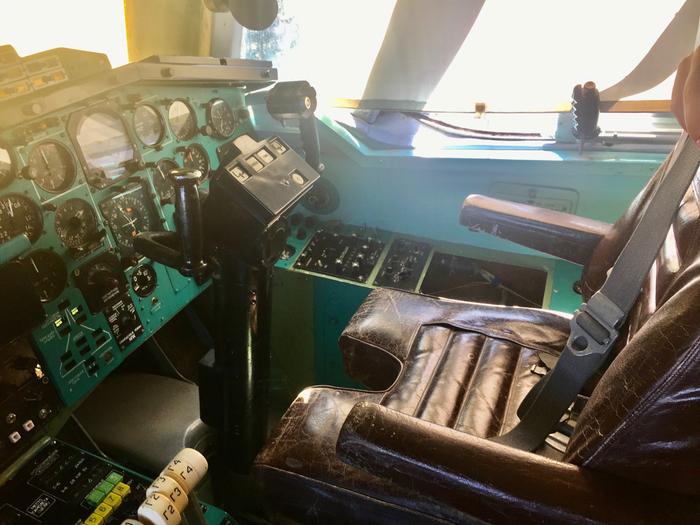 Рабочее место пилота Ту-144 Ту-144, Рабочее место, Авиация, Пилот, Работа, Длиннопост