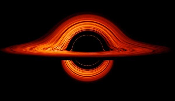 Новая анимированная визуализация черной дыры, на которую можно смотреть бесконечно Космос, NASA, Черная дыра, Космические исследования, Вселенная, Астрономия, Гифка
