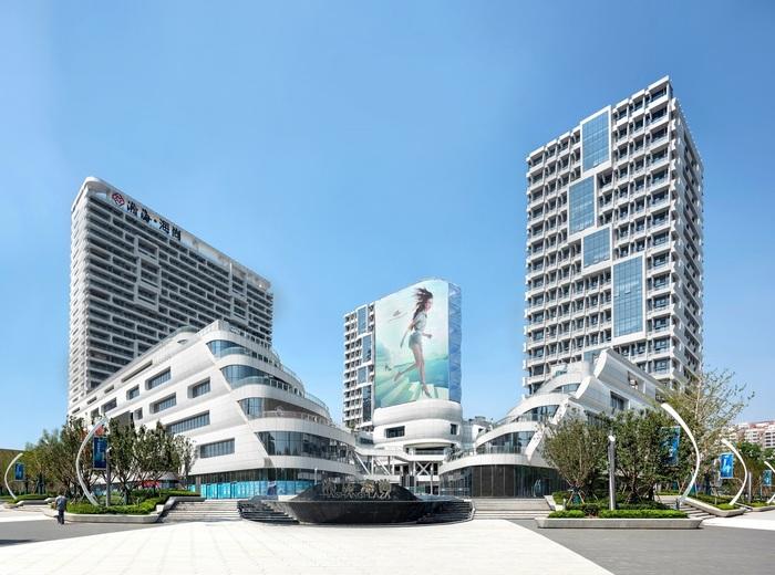 Футуристический торговый центр в Китае. Архитектура, Строительство, Длиннопост, Китай