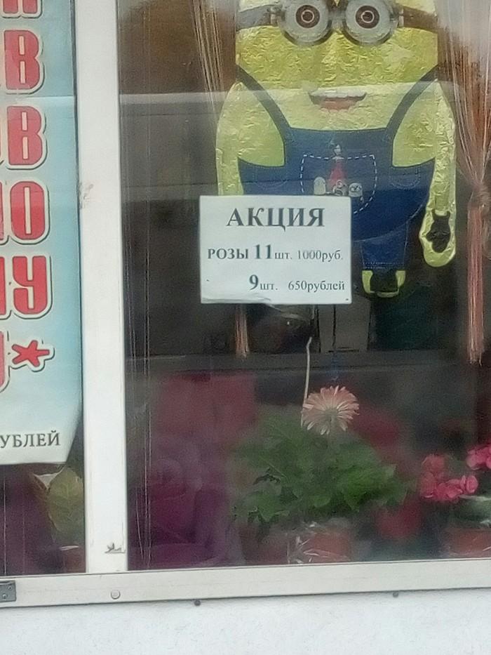 Акция Акции, Роза, Рабинович