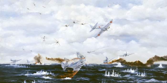 Мидуэй: чёрный день американских торпедоносцев Длиннопост, История, США, Япония, Вторая мировая война, Война, Авиация
