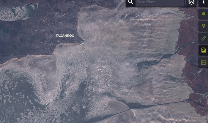 Таганрог, море и песчаная буря Таганрог, Песок, Ситуация, Море, Видео, Длиннопост