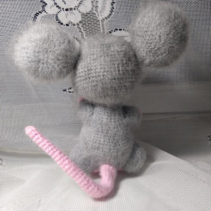 Мышка Шуша Мышь, Вязание крючком, Мягкая игрушка, Амигуруми, Рукоделие без процесса, Длиннопост