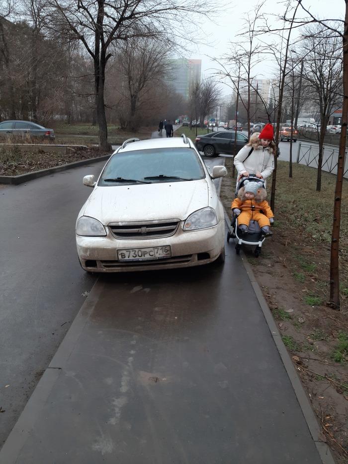 Финал истории о том, как граждане тротуар в парковку превратили Нарушение ПДД, Закон и порядок, Мат, Мат, Длиннопост