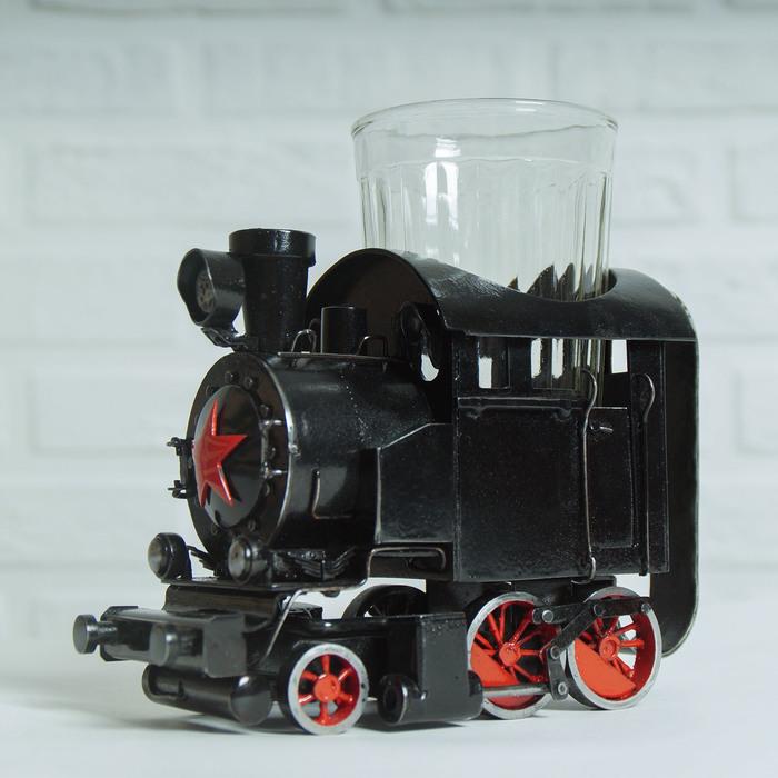 Подстаканник паровоз серии ТТ Пятничный тег моё, Паровоз, Стимпанк, Металл, Художественная сварка, Длиннопост, Steampunk подстаканник, Ручная работа