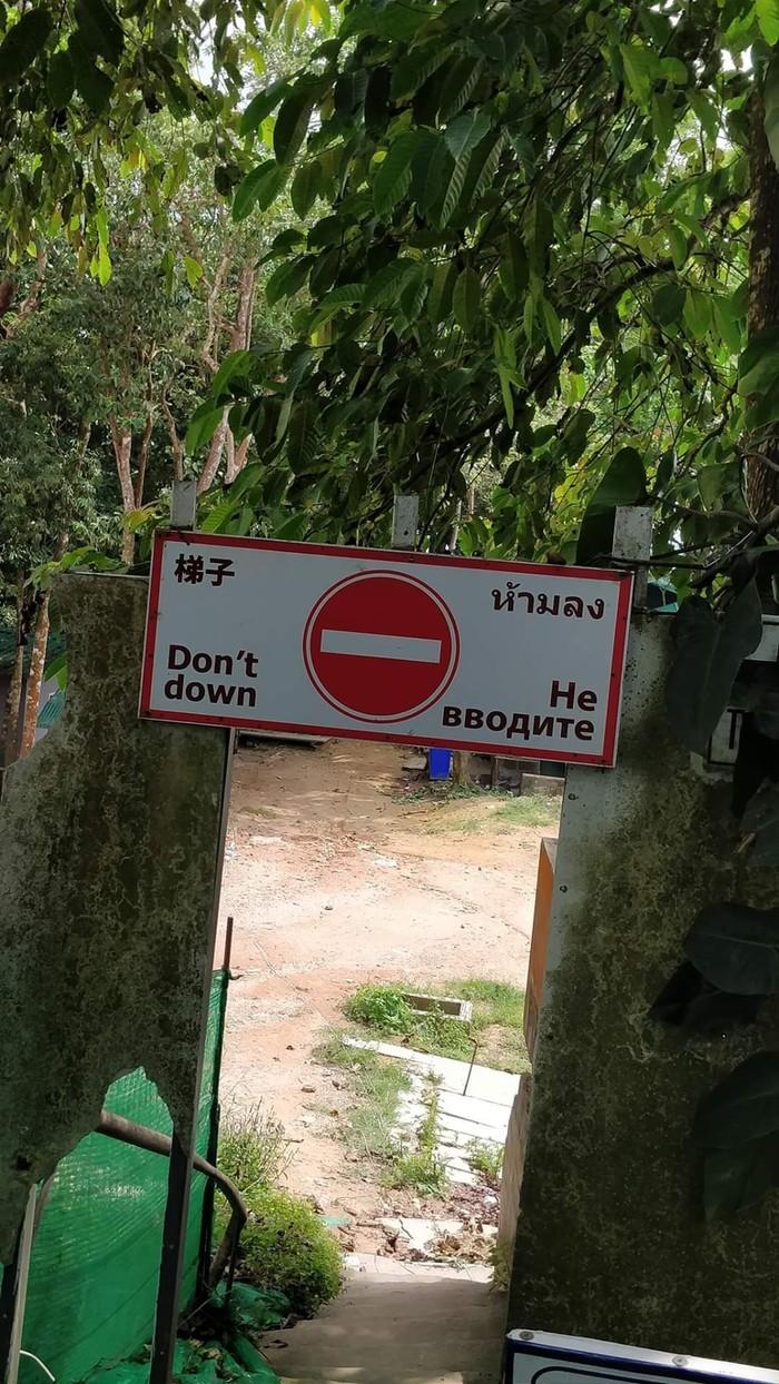 Подборка интересного из тайских социальных сетей. Выпуск #1 Таиланд, Мемы, Жизнь за границей, Социальные сети, Дорожный знак, Видео, Мат, Длиннопост