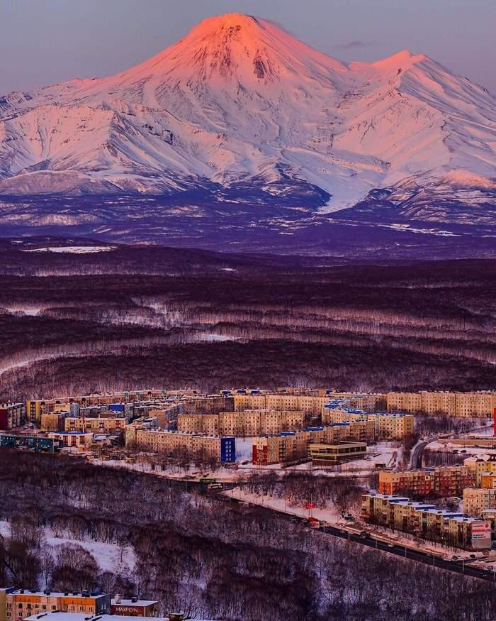 Авачинский вулкан Камчатка, Вулкан, Природа