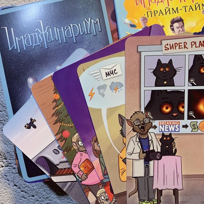 Юхху! Вышла новая колода карт, пять из которых с моими иллюстрациями Настольные игры, Bird Born, Кот, Кот Степан, Длиннопост