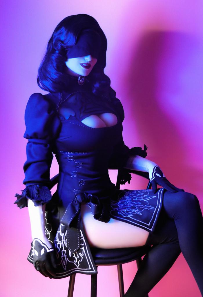 Elizabeth as 2B - Nier Automata by Claire Sea Элизабет, Bioshock Infinite, Bioshock Infinite burial at se, Игры, Косплей, BioShock, Русский косплей, Длиннопост