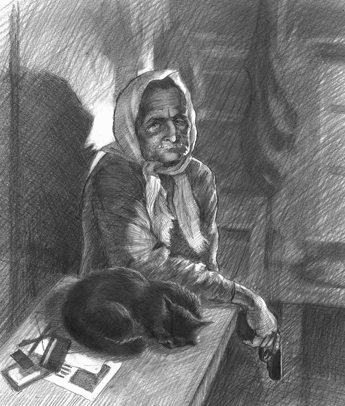 Собрание силы нечистой Рисунок, Нечисть, Графика, Художник, Фольклор, Длиннопост