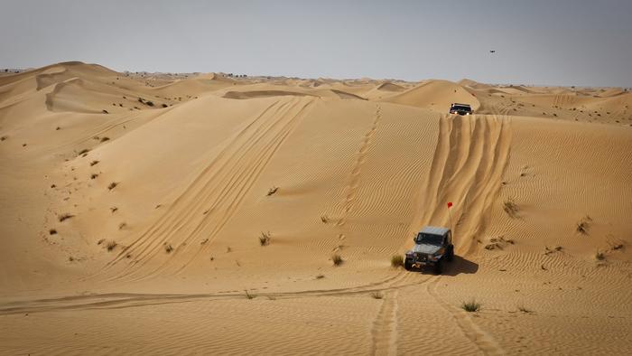 Продолжение поста Арабские приключения, часть 2 - Конвой для новичков Пустыня, Land Cruiser, ОАЭ, Автоклуб, Видео, Длиннопост