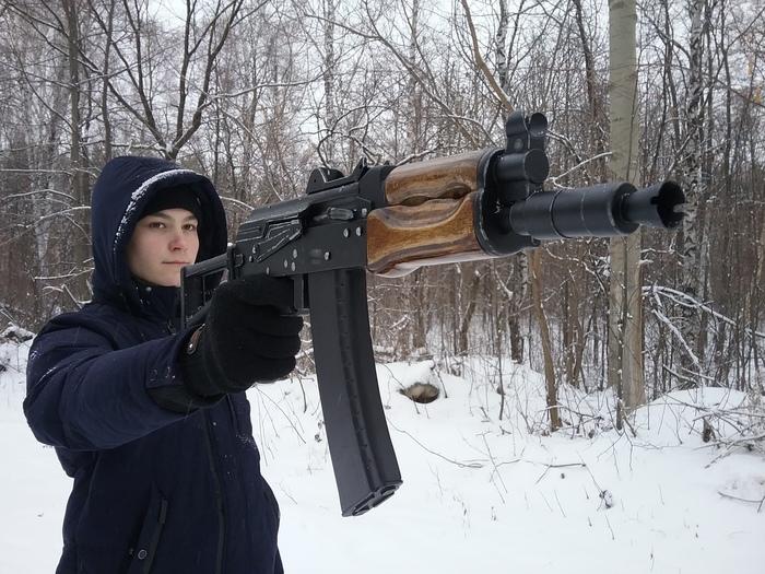 Сделал своими руками 5 макетов АКС-74У из дерева за 30 дней! Оружие, Своими руками, Рукоделие без процесса, Дерево, Работа с деревом, Автомат Калашникова, Творчество, Видео, Длиннопост