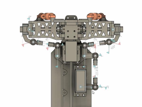 Новое радиоуправляемое шасси с полным приводом 3D печать, Радиоуправляемые модели, Своими руками, Шасси, Гифка, Видео, Длиннопост