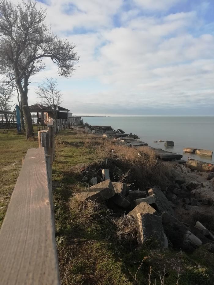 Азовское море Азовское море, Зима, Должанская, Видео, Длиннопост