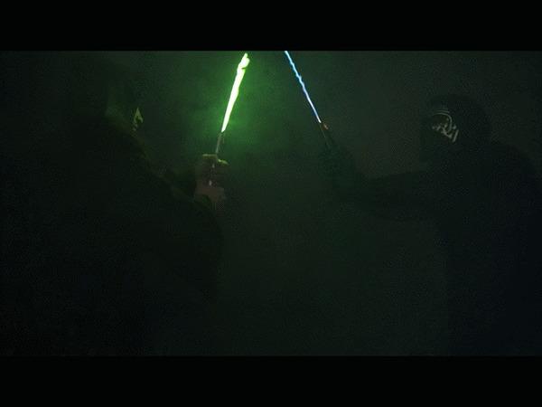 Lightsaber Световой меч, Меч, Длиннопост, Гифка