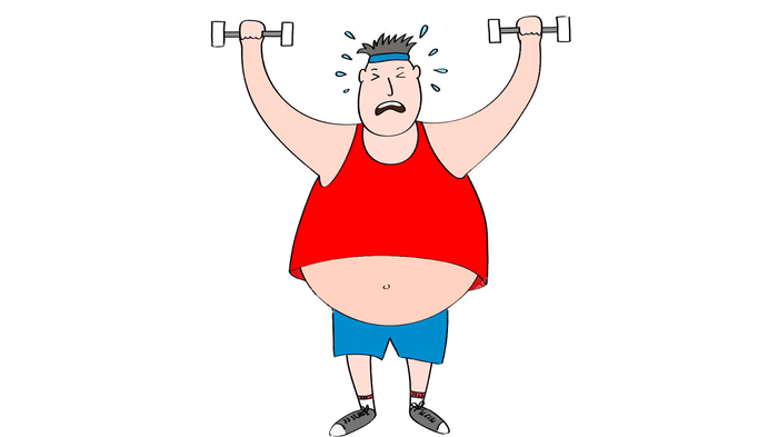 снизить вес мужчине скучаю