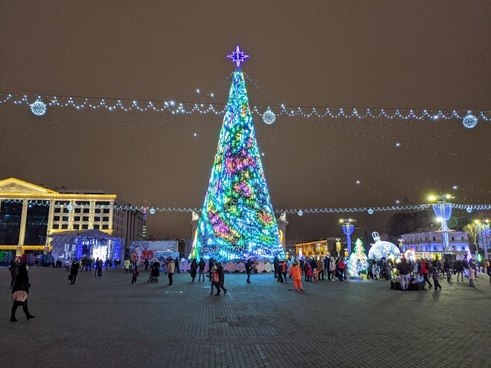 Минск новогодний