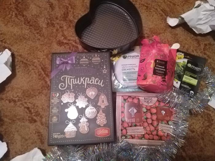 АДМ Новая Каховка - Киев Новый Год, Отчет по обмену подарками, Обмен подарками, Тайный Санта, Длиннопост