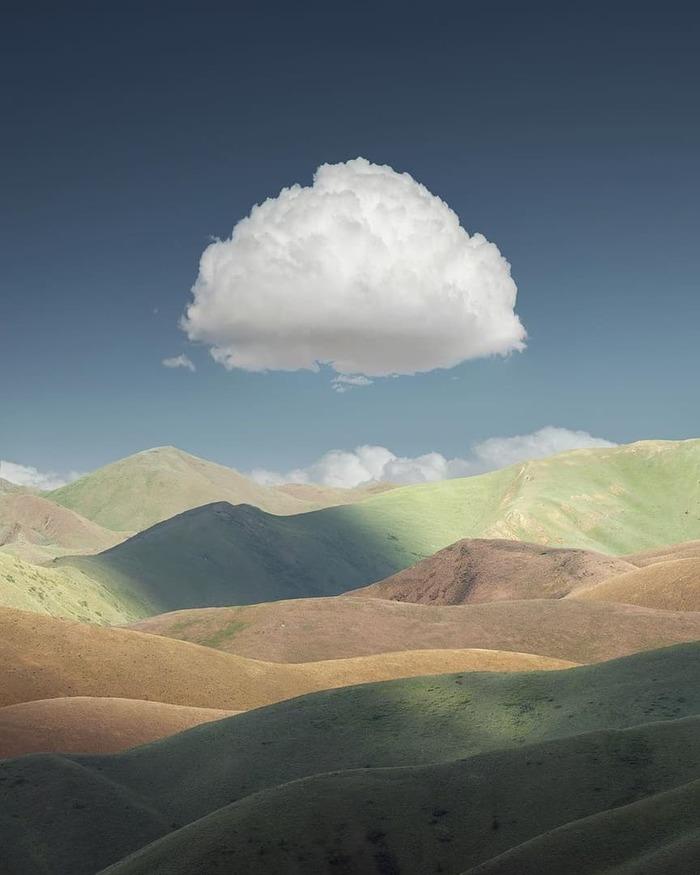 Облако над Айдахо