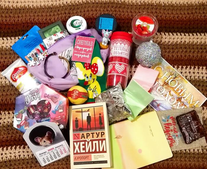 Новогодний обмен от Миррочки. Кострома-Новосибирск Обмен подарками, Новогодний обмен от Миррочки, Длиннопост, Тайный Санта, Отчет по обмену подарками