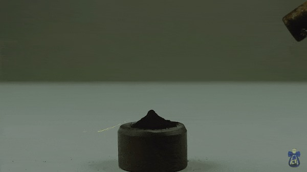 Гидрид титана – звезда фейерверков Титан, Химия, Фейерверк, Гифка
