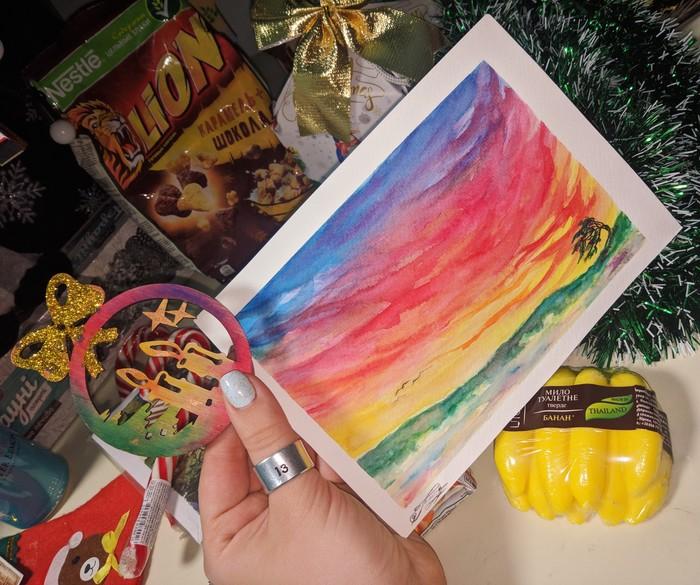 АДМ 2019/2020 Львов-Харьков Новогодний обмен подарками, Отчет по обмену подарками, Обмен подарками, Длиннопост