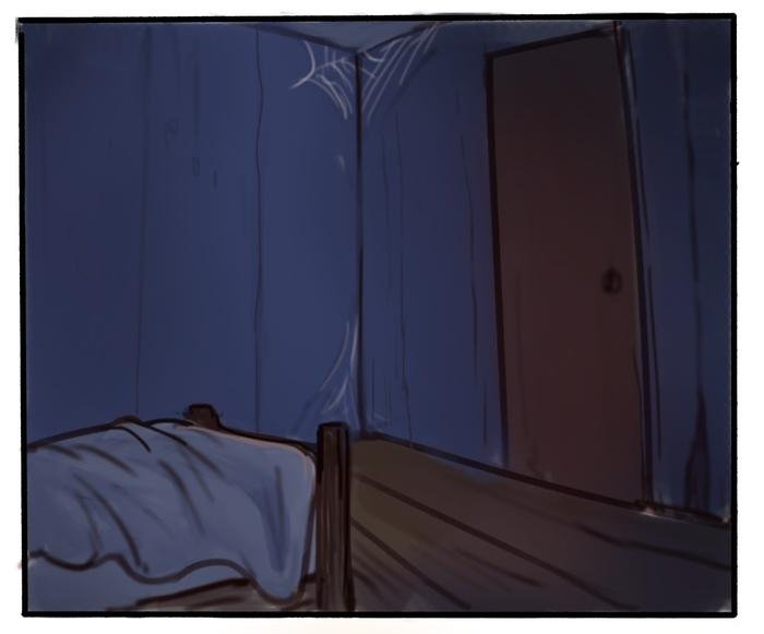 Монстр и Рождество. Часть 1 Комиксы, Рисунок, Jwitless, Монстр, Детство, Сказка, Рождество, Новый Год, Длиннопост