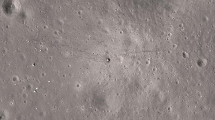 А вот и моя высадка на Луну