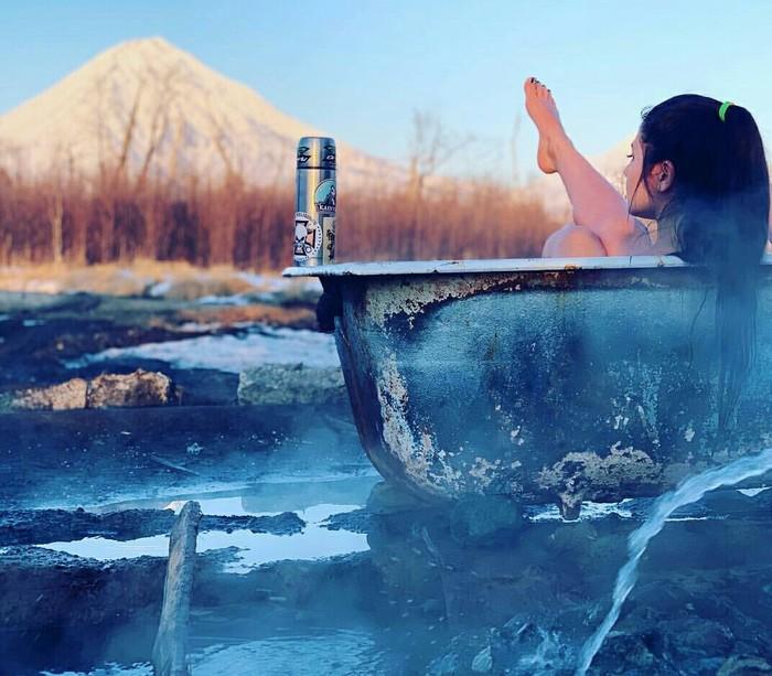 Горячие ванны Камчатки