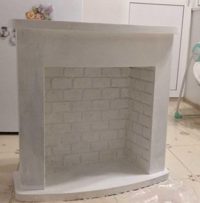 Мой фальшкамин Декоративный камин, Камин, Новый Год, Переделка, Ручная работа, Рукоделие с процессом, Длиннопост
