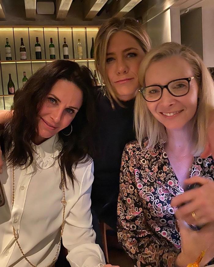 Моника, Рэйчел и Фиби, 2020 год
