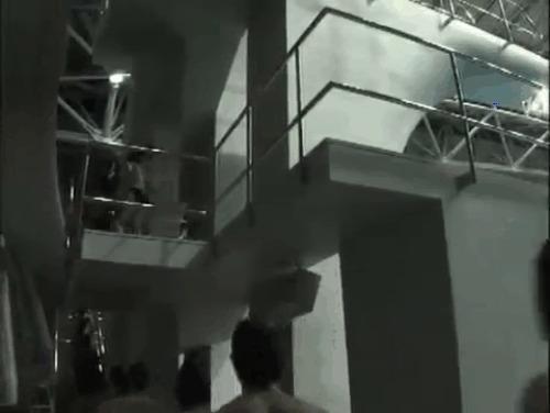 Самый массовый в мире прыжок в воду с 10 метров (мировой рекорд #300НАВЫШКЕ) Мировой рекорд, Флешмоб, Спорт, Вышка, 10 метров, Гифка, Длиннопост, Прыжки в воду