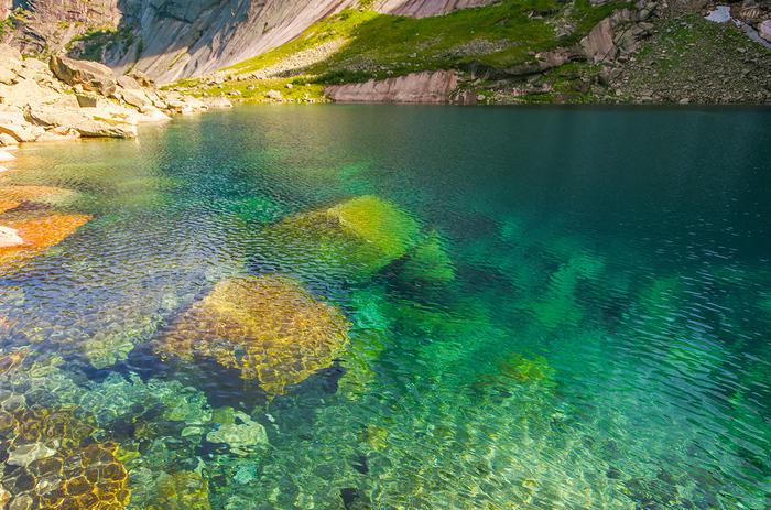 Прозрачная вода в Ергаках Ергаки, Путешествия, Пейзаж, Сибирь, Фотография, Вода, Отдых в России, Отдых на природе, Длиннопост