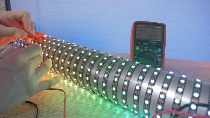Сделал самый крутой самодельный светильник! Своими руками, Самоделки, Электроника, Arduino, Alexgyver, Видео, Длиннопост